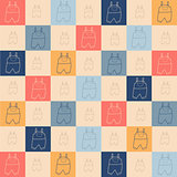 Childish seamless pattern