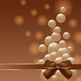 Cover chocolate sweets box background.