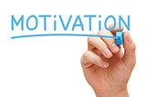 Motivation Blue Marker