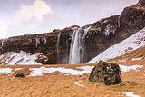 Svinafellsjokull Falls