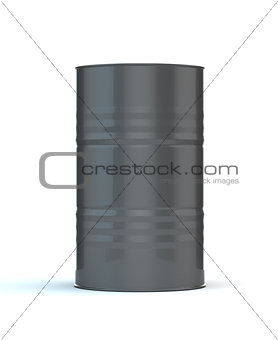 Single Gray Barrel