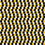 Seamless patterned matrix of squares