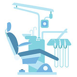 Dentist medical office chair