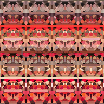 abstract geometric pattern backdrop  in orange pink