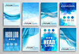 Set of Flyer Design, Infographics Brochure Designs