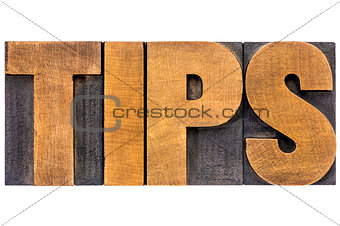 tips word typography