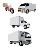 Four vehicle set