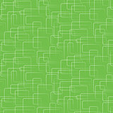 Vector seamless background. White rectangles in a mess on green