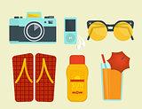 Summer vacation attributes