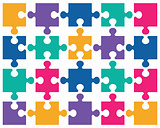 colorful shiny puzzle 2