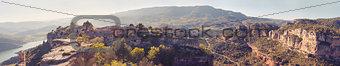 Siurana village in the province of Tarragona (Spain)