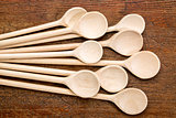 wooden spoon abstract