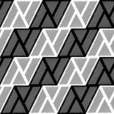 Design seamless monochrome triangle geometric pattern
