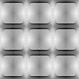 Design seamless square geometric pattern
