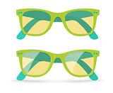 Vector illustration of sunglasses
