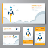 corporate identity template startup