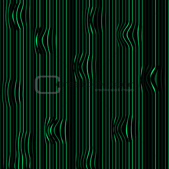 Torn green lines abstract natural background