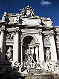 Fountain of Trevi in Rome