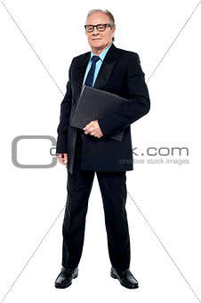 CEO all ready to attend annual business meeting