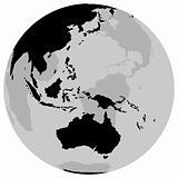 Earth Australia - Globe