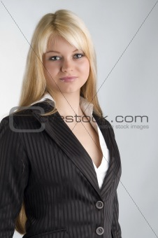 blond formal