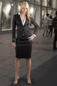 blond in formal