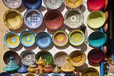 Moroccan Ceramic Handpainted Dishes