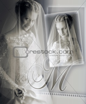 Brides wedding album montage