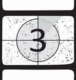 Film countdown at number 3