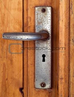 grunge door handle