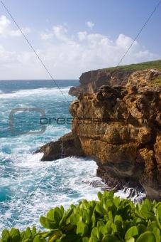 Cliffs on Kauai coast