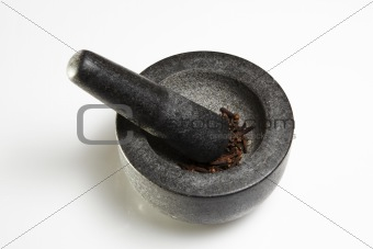 black mortar