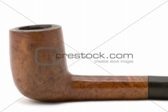 tobacco-pipe close up