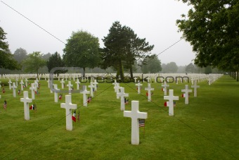 American Cemetary in Normandy