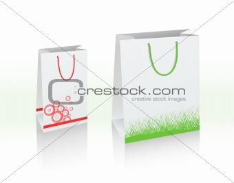 2 vector bags