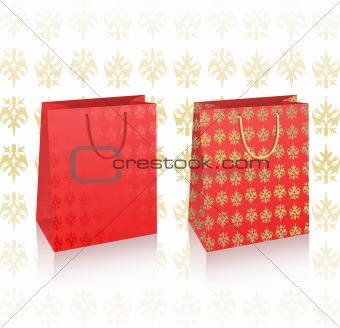 2 vector royal bags