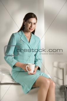 Portrait of business woman.