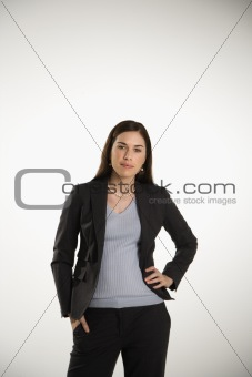 Portrait of business woman.