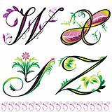 elements W to Z