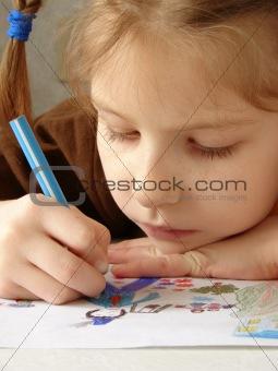 drawing girl 3