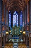 Lady Chapel inside Liverpool Cathedral