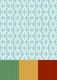 retro seamless pattern / wallpaper / vector