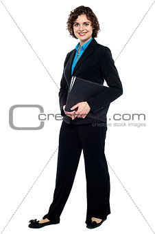 Business executive ready to attend meeting