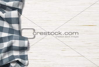 kitchen table background with picnic cloth