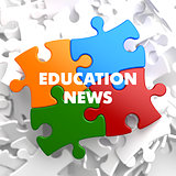 Education News on Multicolor Puzzle.