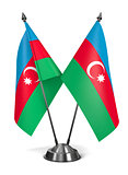Azerbaijan - Miniature Flags.