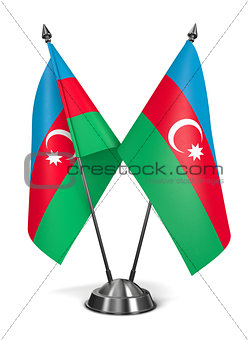 Azerbaijan - Miniature Flags.