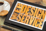 web design service typography