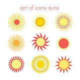 Icons suns
