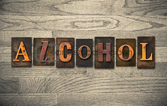 Alcohol Wooden Letterpress Theme